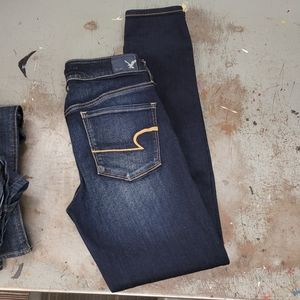 AMERICAN EAGLE OUTFITTERS SUPER STRETCH SZ 8